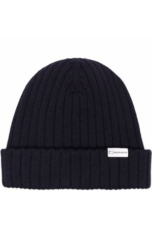 Woolrich Ribbed-knit virgin wool beanie