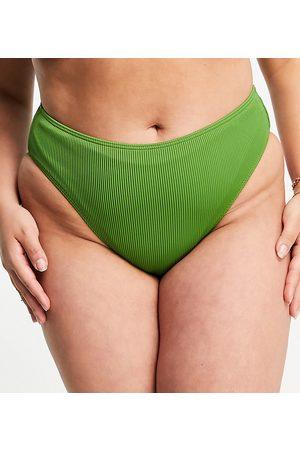 Simply Be – Mix and Match – Strukturierte Bikinihose in