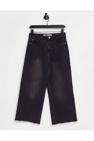 Brave Soul – Melody – Jeans mit geradem Schnitt in verwaschenem