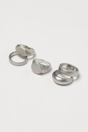 H&M 5er-Pack Ringe