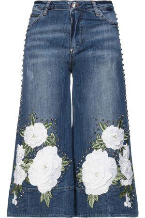 Philipp Plein Damen Cropped - HOSEN & RÖCKE - Cropped Jeans - on YOOX.com