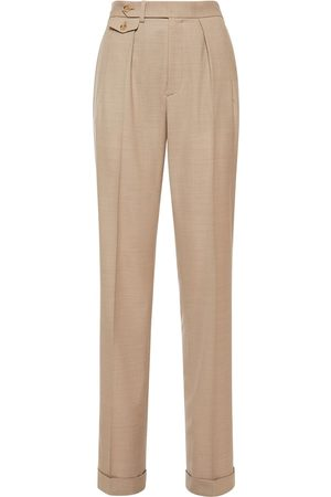 Ralph Lauren Damen Hosen & Jeans - Tailored Wool Straight Leg Pants