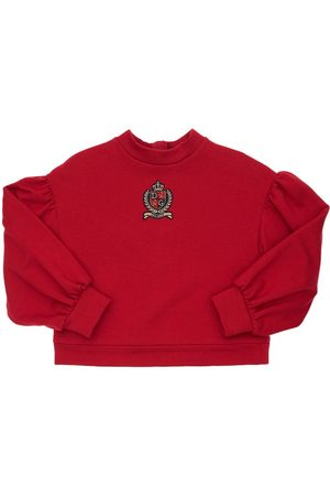 DOLCE & GABBANA Sweatshirt Aus Baumwolle Mit Logopatch