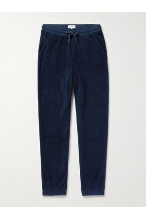 Hamilton And Hare Tapered Cotton-Terry Sweatpants