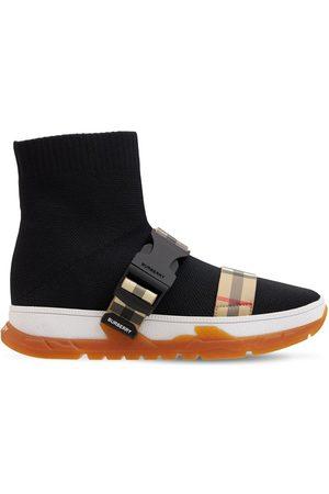 Burberry Slip-on-sneakers Aus Strick