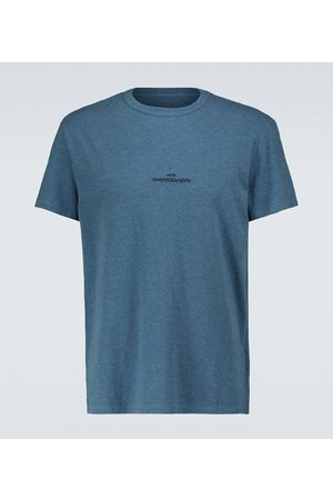 Maison Margiela T-Shirt Upside Down mit Logo