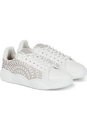 Alaïa Sneakers aus Leder