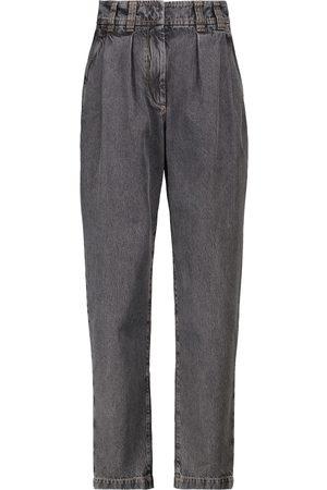 Brunello Cucinelli High-Rise Jeans Riya