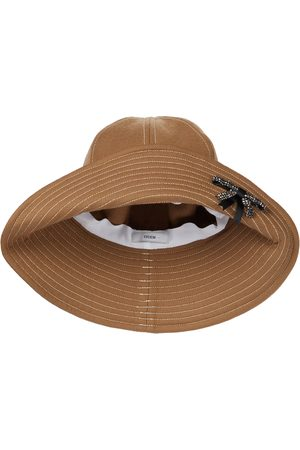 Erdem Verzierter Hut aus Wolle