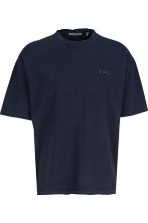 YOUNG POETS SOCIETY Herren Shirts - Herren T-Shirts Yoricko snow wash 214 (vintage blue nights)