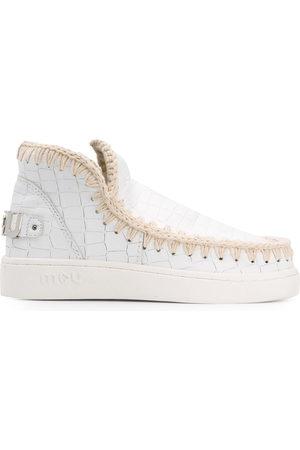 Mou Damen Sneakers - Sneakers mit Kroko-Effekt