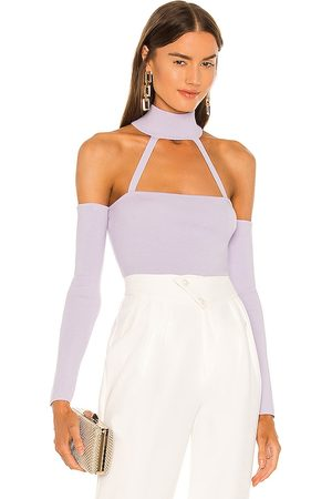 Michael Costello X REVOLVE Araceli Knit Bodysuit in . Size XXS, XS, S, XL.