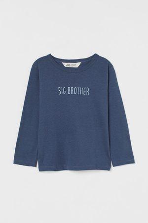 H&M Geschwistershirt aus Baumwolle