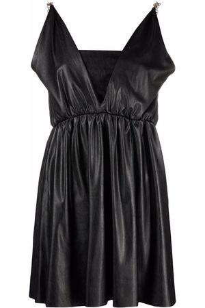 Pinko Kleid aus Faux-Leder
