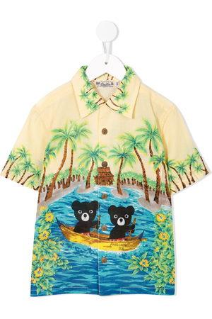 Miki House Jungen Hemden - Hemd mit Teddy-Print