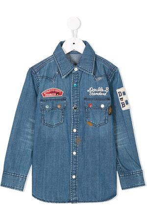 Miki House Jungen Denim - Jeanshemd mit Stickerei