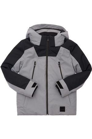 HUGO BOSS Jungen Winterjacken - Gepolsterte Jacke Aus Nylon Mit Logodruck