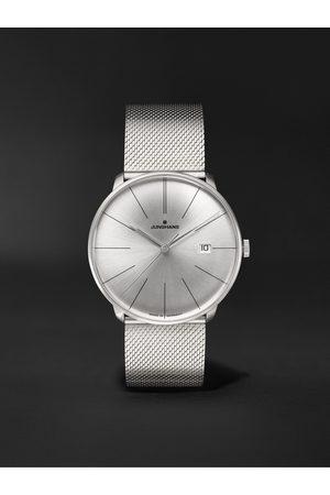 Junghans Herren Uhren - Meister Fein Automatic 39.5mm Stainless Steel Watch, Ref. No. 27/4153.44