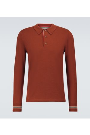 Burberry Polopullover Pace aus Merinowolle