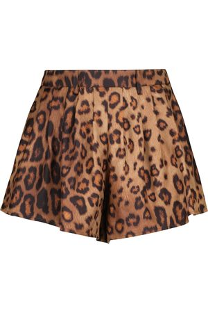 Etro Shorts aus Seiden-Faillé