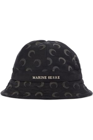 Marine Serre Hut aus Denim
