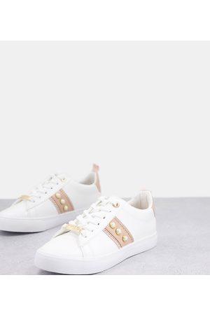 Miss KG Wide Fit – Sneaker mit Perlen in