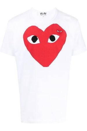 Comme des Garçons T-Shirt mit Logo-Print
