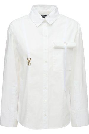 "Jacquemus Damen Blusen - Hemd Aus Stretch-viskose ""la Chemise Edolo"""