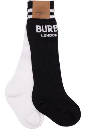 Burberry 3er-set Socken Aus Baumwollmischstrick