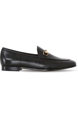"Gucci 10mm Hohe Loafers Aus Leder ""jordaan"""