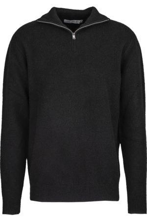 YOUNG POETS SOCIETY Herren Herren Strick Janny half zip 214 (black)