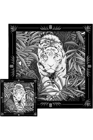 """Maison Fetiche Herren Schals - Set """"Duo"""" Légende Black & White"""