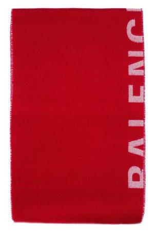 Balenciaga Herren Schals - Macro-Logo-Schal