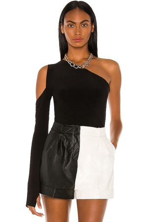 Norma Kamali One Shoulder One Sleeve Top in . Size XS, S, L.