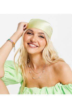 Glamorous Damen Haarschmuck - – Exklusives Bandana aus Satin in mit Farbverlauf
