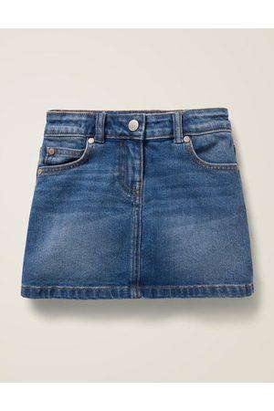 Boden Five Pocket Denim Skirt MDN Mädchen