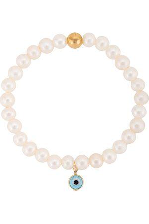 Nialaya Damen Armbänder - Armband mit Perlen - WHITE