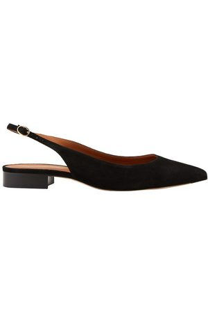 Vanessa Bruno Damen Sandalen - Flache Slingback-Schuhe