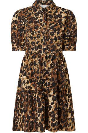 Object Damen Freizeitkleider - Blusenkleid mit Allover-Muster Modell 'Rosita