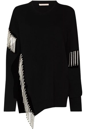 Christopher Kane Damen Strickpullover - Cut out cupchain sweater