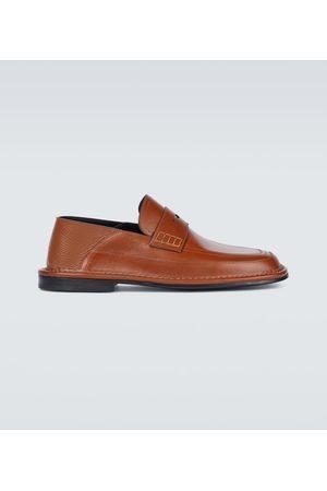 Loewe Halbschuhe - Loafers aus Leder