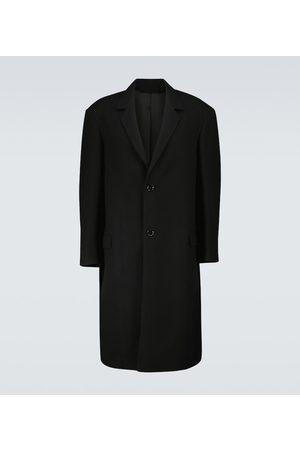 LEMAIRE Einreihiger Mantel aus Woll-Twill
