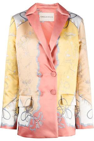 Emilio Pucci Damen Sommerjacken - Mantel mit Print