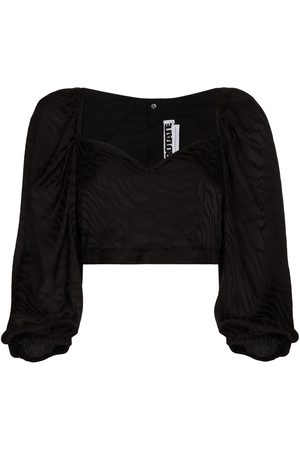 ROTATE Damen Blusen - Irina puff-sleeve blouse