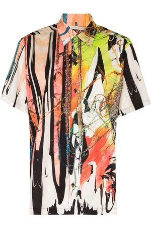 Christopher Kane Damen Shirts - Mindscape cotton shirt