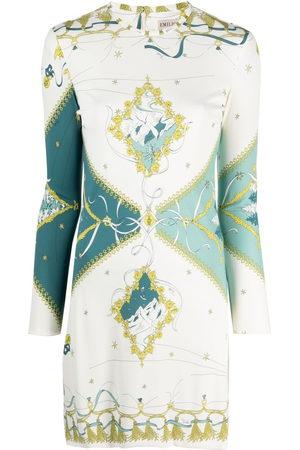 Emilio Pucci Damen Freizeitkleider - Minikleid mit Holiday-Print