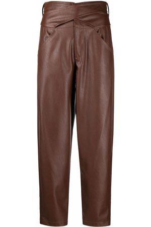 Pinko Damen Capris - Cropped-Hose mit hohem Bund