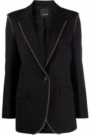Pinko Damen Blazer & Sakkos - Blazer mit Kugelkettendetail