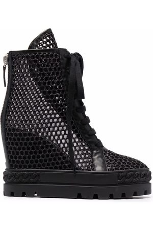 Casadei Damen Sneakers - Open Sneakers aus Leder