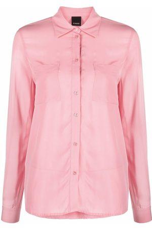 Pinko Damen Blusen - Hemd mit breitem Kragen